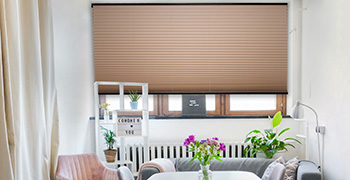 Double Pleated Blinds