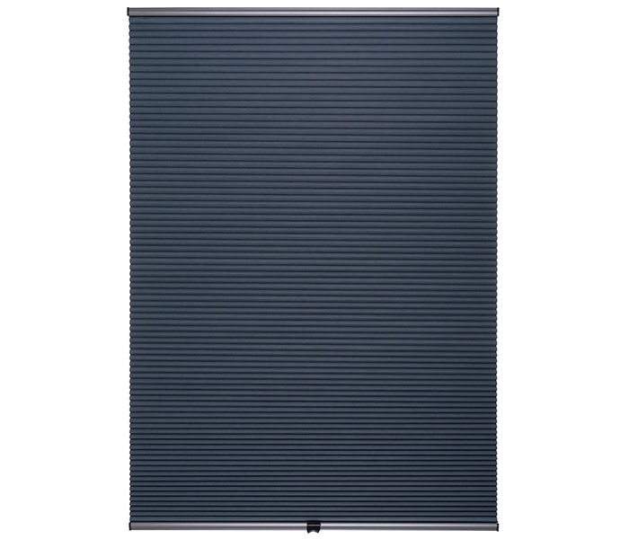 blackout double pleated blinds
