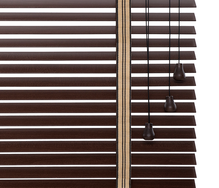 wooden blinds 27mm LUX