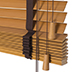 faux wood blinds 35mm CEDRO